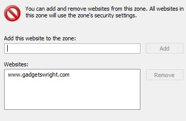 Chrome site blocker