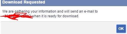 Facebook archieve