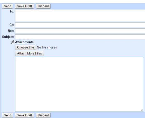 new gmail account