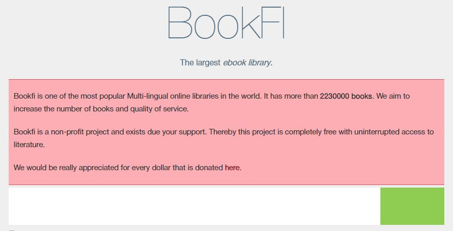 bookfi alternatives