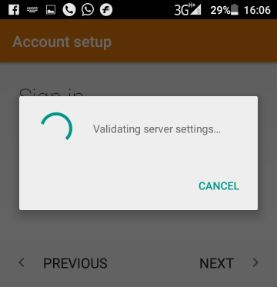 Login to iCloud on Android