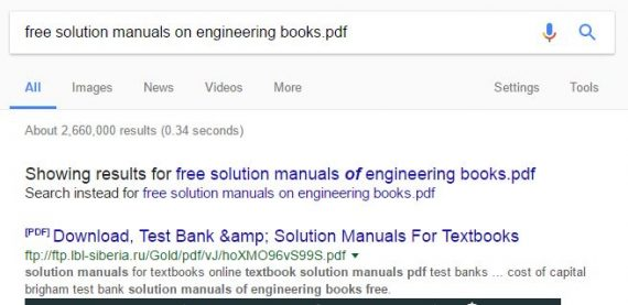 Textbooks solution manual