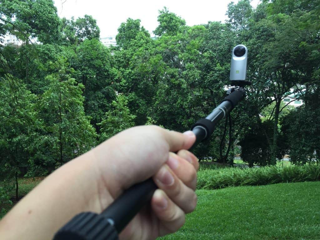 Download Camera 360 or Camera360 selfie stick