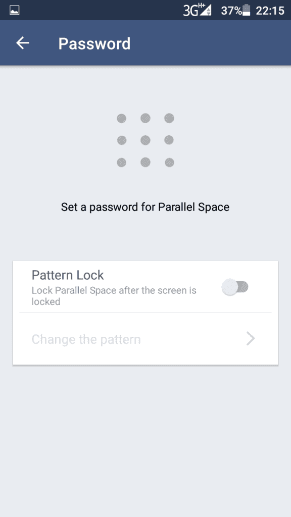Parallel space multiple accounts