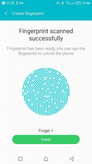 Create Fingerprint Scanner Sensor on Android Phone