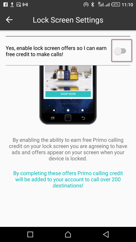 Primo.me app