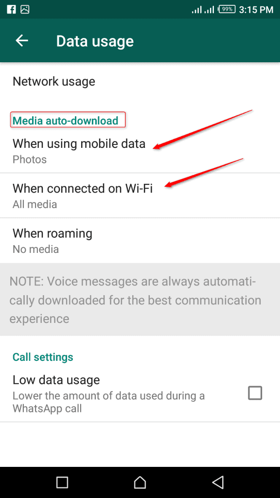 Downloading Whatsapp Media (Photos, videos, audio, and document)