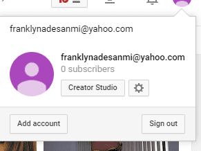 YouTube account without Google account