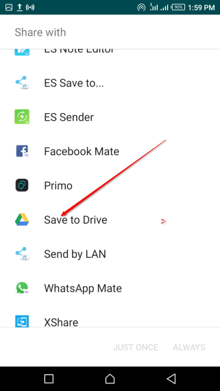 how to put contacts on google account