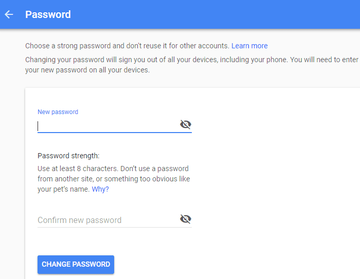 How to Recover Gmail Password without any Information