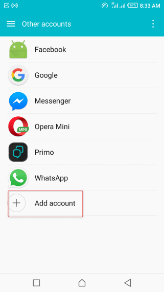 How to Backup Phone Contacts to Google Contacts