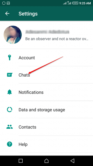 How to set your Picture as Your WhatsApp Wallpaper