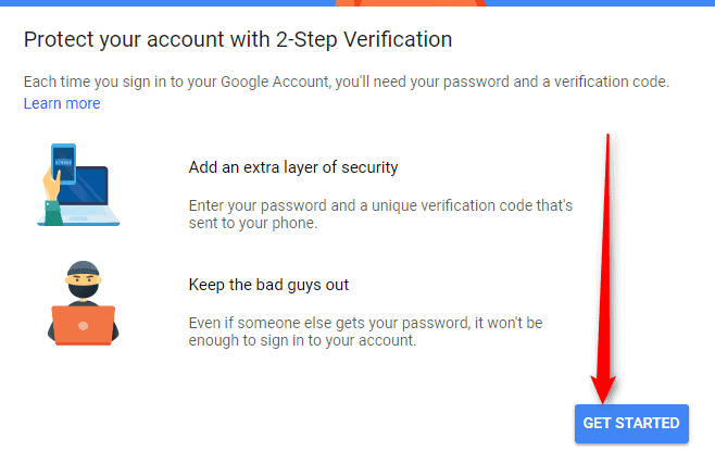 How to Setup Gmail two-step Verification