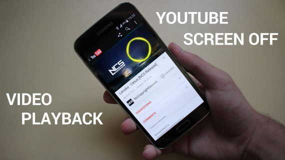 Play YouTube videos on Android phone background
