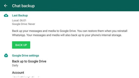 How to Restore WhatsApp Backup From Google Drive