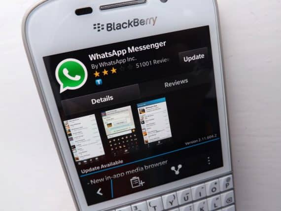 Download WhatsApp for Blackberry 10