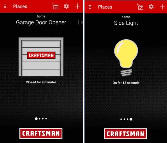Garage Door Opener App