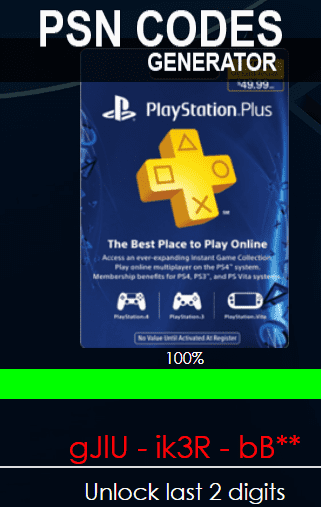 How Generate Free PSN Code in 2018 [100% Working]