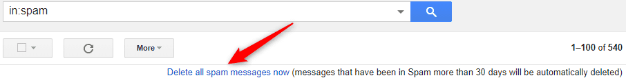 How to Delete Messages Spam & Trash Box in Gmail