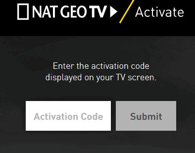 Natgeotv com activate