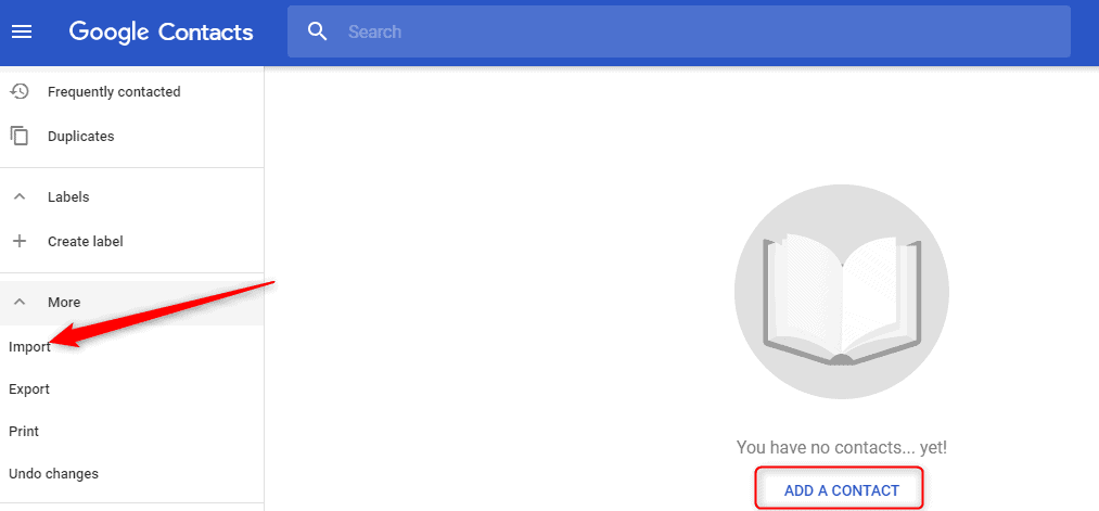 How to Find Contacts in the New Gmail Design
