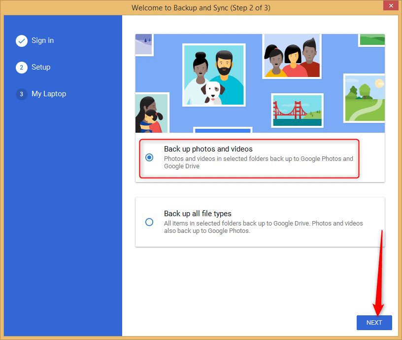 Google Photos Desktop Uploader