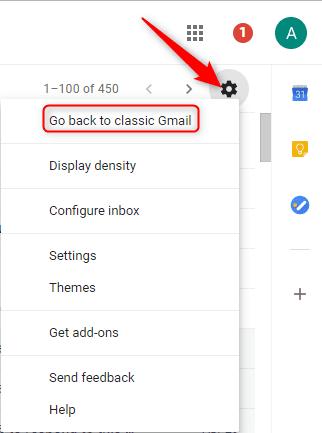 Classic Gmail Design