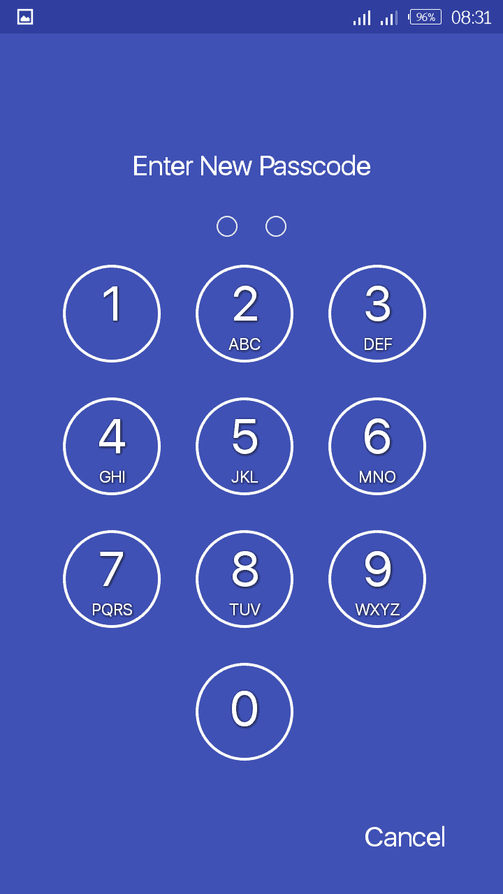 Screen Lock Time Password