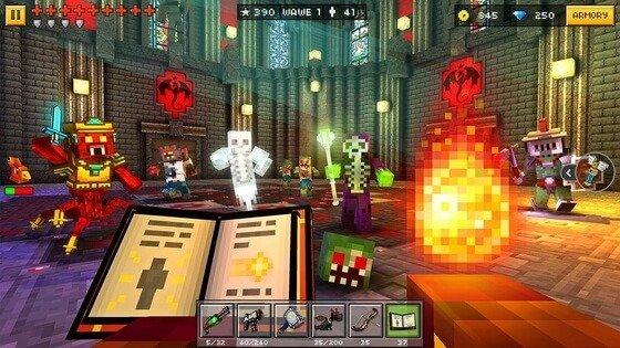 Pixel Gun 3D animated game