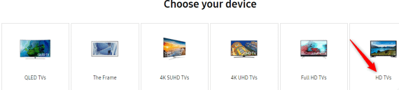 Samsung TV Firmware Download
