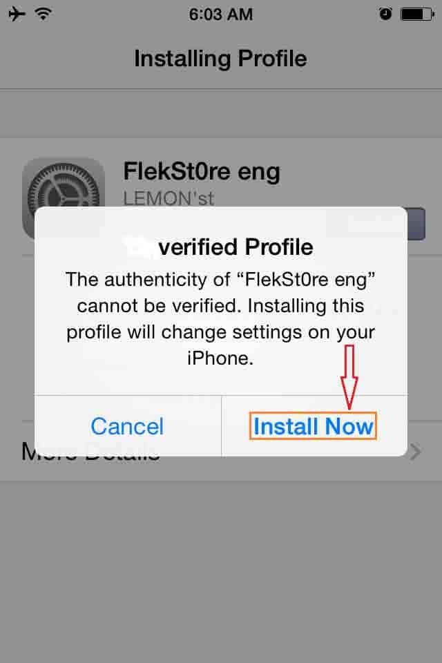 Flekstore iOS App